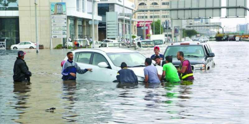 Hujan Seharian, Mekah Kebanjiran Sampai Masjidil Haram