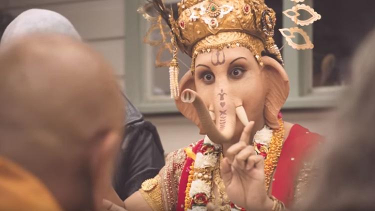 Iklan Dewa Ganesha Makan Daging Picu Kemarahan India