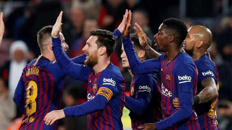 Setelah Taklukkan Girona, Barcelona Songsong Sevilla