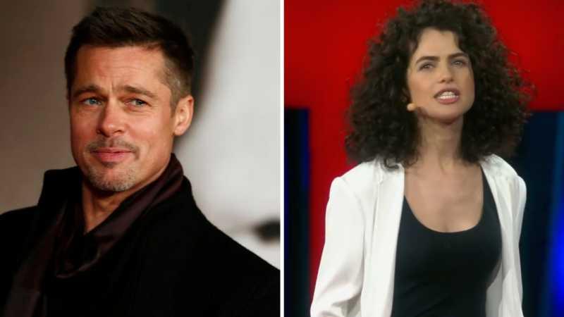 Brad Pitt Pacaran dengan Profesor Cantik Asal Israel