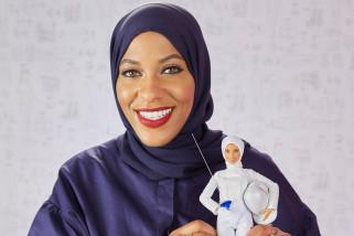 Barbie luncurkan boneka berkerudung pertama