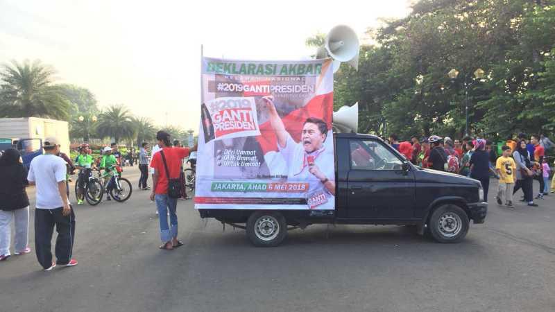 Gerakan #2019GantiPresiden Semakin Populer