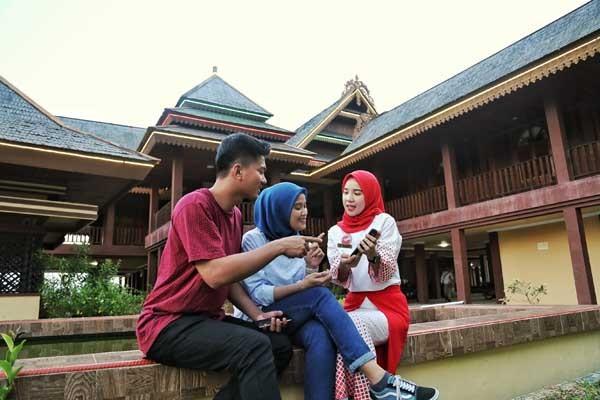 Sentuhan Digital Telkomsel di Pulau Kalimantan