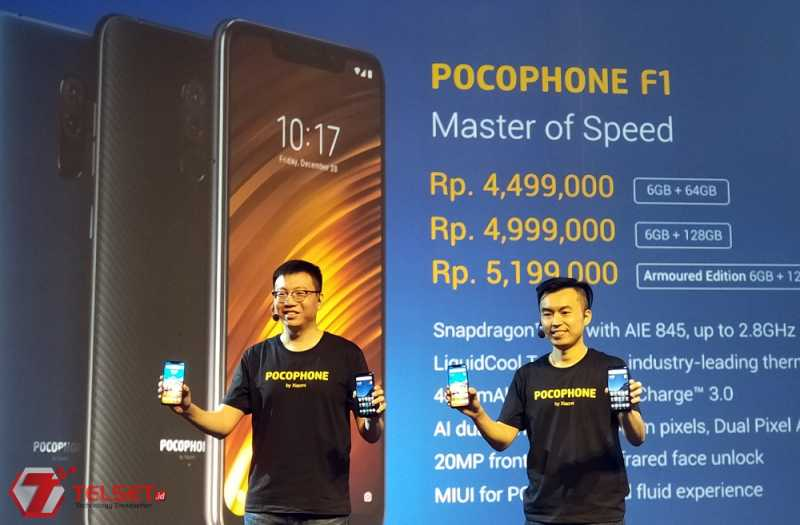 Ini Harga Smartphone Flagship Killer, Pocophone F1
