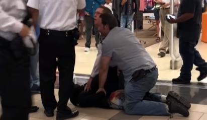 Video Detik-detik Penangkapan Komplotan Pencuri di Apple Store