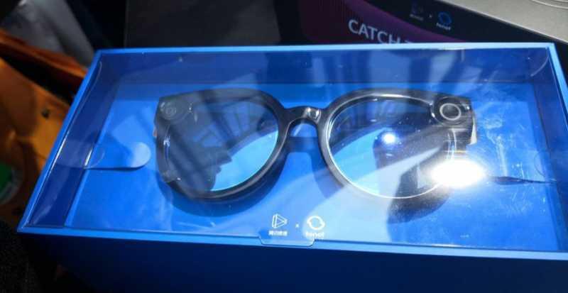 """Tencent Bikin Kacamata Pintar Weishi untuk """"TikTok-an"""""""