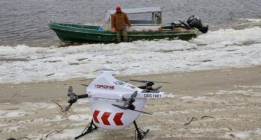 Penduduk di Pulau Terpencil Ini Gunakan Drone untuk Kirim Barang