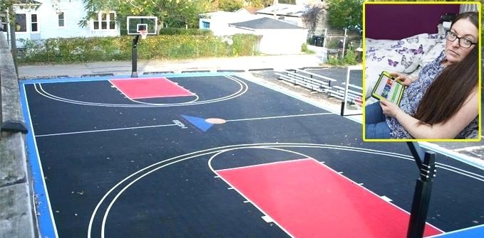 Ibu Ini Kaget Beli Lapangan Basket di Toko Online