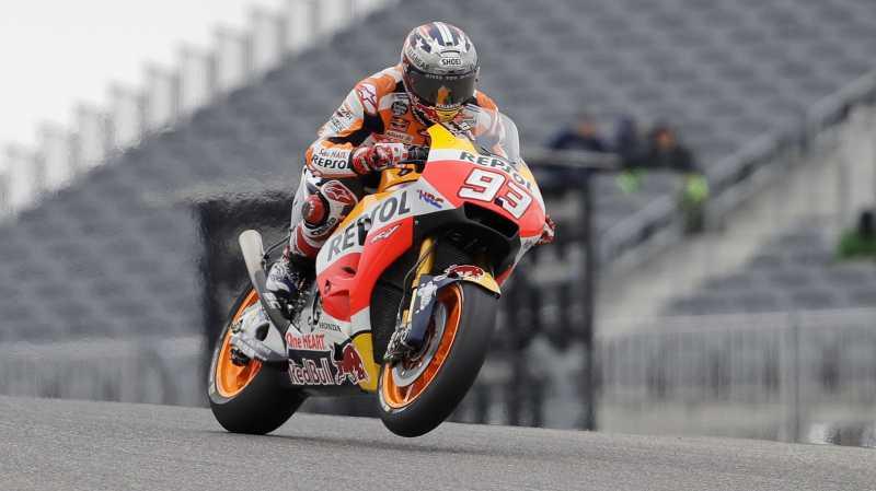Marc Marquez Juarai MotoGP Jerman