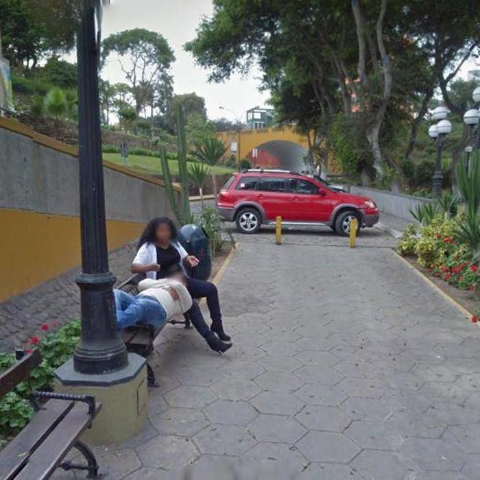Suami Pergoki Isterinya Selingkuh dari Foto Google Street View