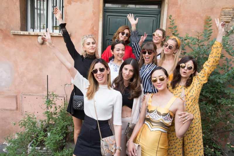 Inspirasi Gaya 11 Digital Influencers di Roma