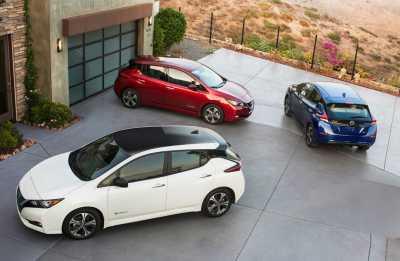 Kejarkejaran Nissan vs Tesla di Pasar Mobil Listrik