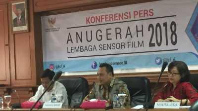 Lembaga Sensor Film Kembali Gelar Ajang Penghargaan untuk Sineas