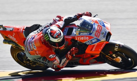 Lorenzo Dilarikan ke RS Setelah Kecelakaan di GP Thailand