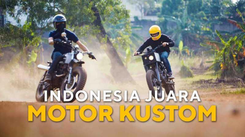 Cerita Motor Kustom Indonesia yang Jadi Bintang di Amerika