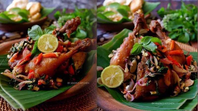 Resep Masakan: Ayam Goreng Jinten Sambal Matah yang Menggugah Selera