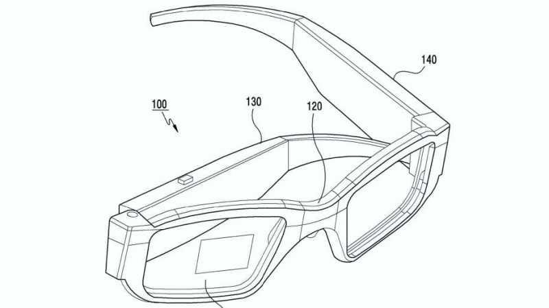 Samsung Terbitkan Paten untuk Kacamata AR, Bisa Dilipat