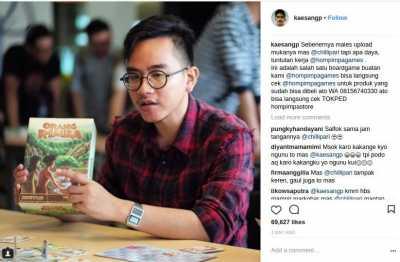 Kaesang Pangarep Jawab Kritikan Netizen Soal Ajakan Bermain Game