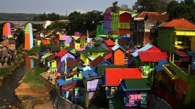 Kampung Tematik di Malang yang Instagrammable & Menghidupi Warga