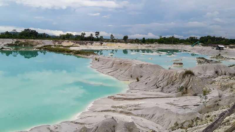 Pesona Danau Kaolin, Saksi Kekayaan Tambang Bangka Belitung