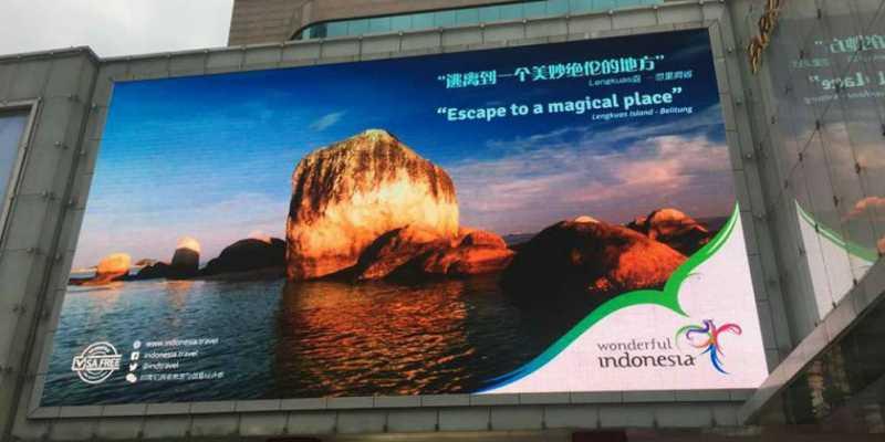 Wonderful Indonesia Unjuk Gigi di 2 Kota Besar Tiongkok