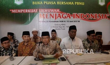 PBNU Sambut Ide Pertemukan NU-Muhammadiyah
