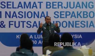 Ketum PSSI: Timnas U-19 Pantas Menang Atas Brunei