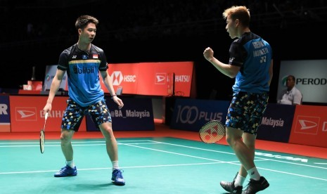 Taklukkan Ahsan/Hendra, Kevin/Marcus Raih Juara China Open