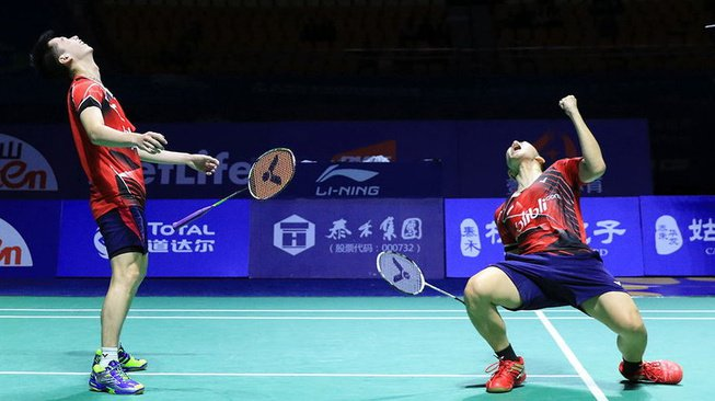 Hasil China Open 2017: Kevin-Marcus Melaju ke Final