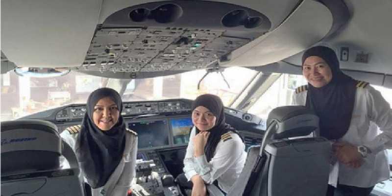 Kisah Pilot-pilot Wanita yang Hebohkan Jagat Maya
