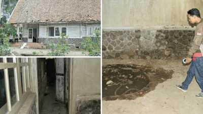 Polisi Sambangi Rumah Keluarga 'Pengabdi Setan'