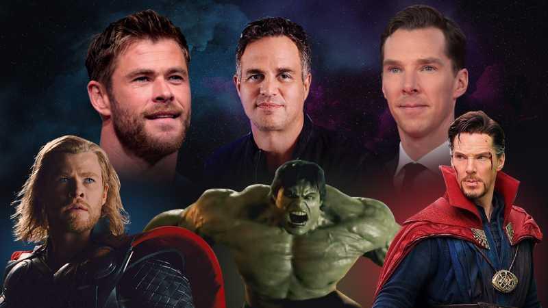 Before-after: Penampilan 5 Aktor Sebelum dan Sesudah Jadi Superhero
