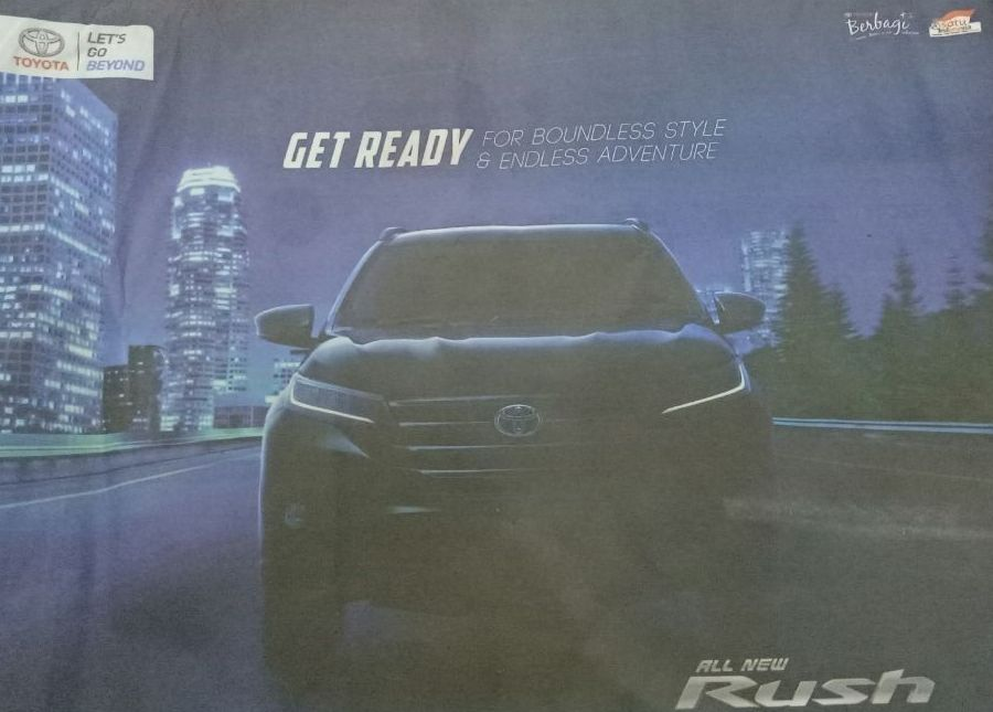 Bocoran All New Toyota Rush