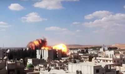 Ledakan Besar Terjadi di Dekat Bandara Internasional Damaskus
