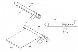 LG Patenkan Pulpen Pintar dengan Layar Fleksibel, Bisa Geser Ponsel Pintar