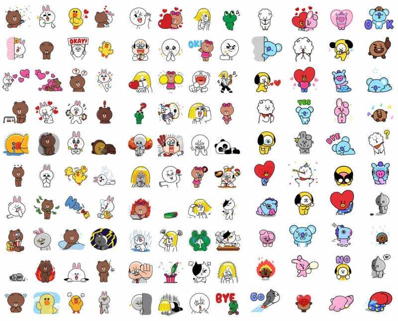 Rayakan Ulang Tahun Ke-7, LINE Sediakan 120 Stiker Animasi yang Bisa Diunduh Gratis