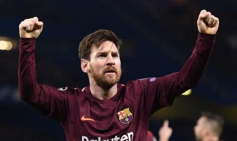 Akhiri Kutukan Chelsea, Ini Catatan Gol Messi di Eropa
