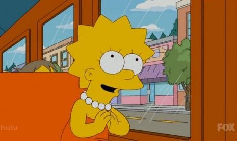 Ed Sheeran Jadi Pujaan Hati Lisa Simpson