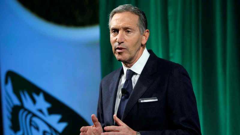 Pendiri Starbucks Calonkan Diri Jadi Presiden AS