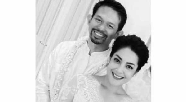 Foto Pernikahan Lulu Tobing Beredar di Sosial Media