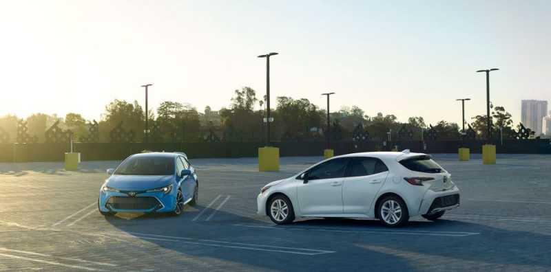 Tampilan Menggugah All New Toyota Corolla Hatcback