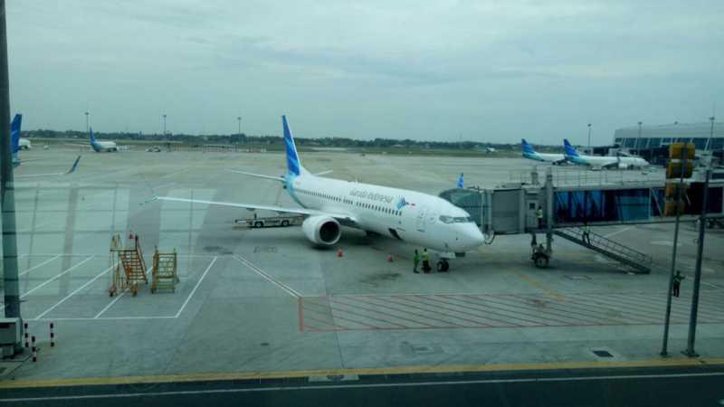 Garuda Operasikan Pesawat Baru Boeing 737 Max 8