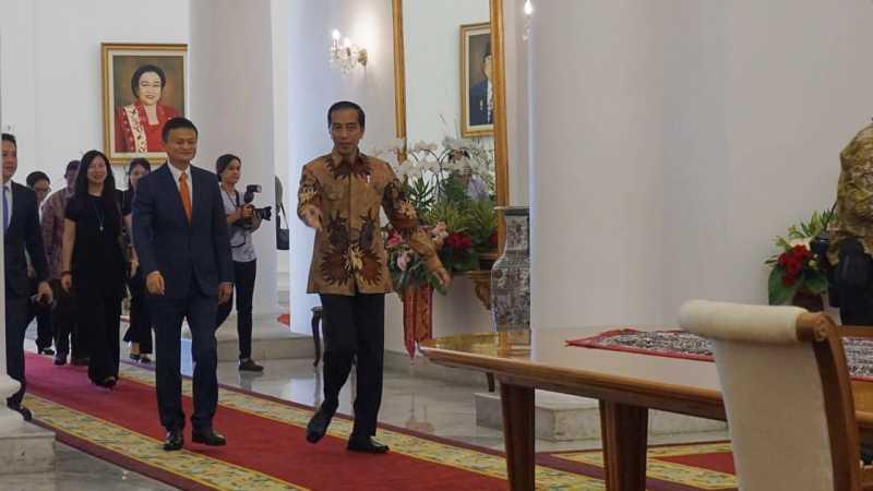 Jokowi Tantang Jack Ma Beraksi di Closing Ceremony Asian Games 2018