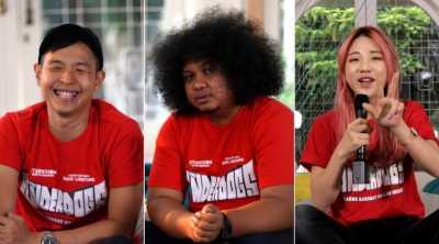 YouTubers di Mata Ernest Prakasa, Babe Cabiita, dan Han Yoo Ra
