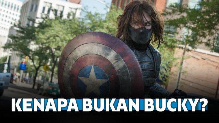 7 Alasan Kenapa Bucky Bukan Pengganti Captain America