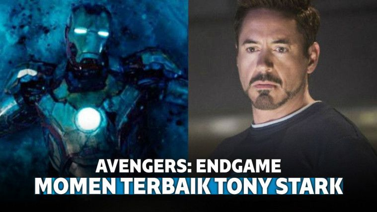 9 Momen Terbaik Tony Stark di Avengers: Endgame