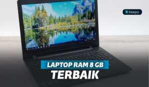 5 Laptop RAM 8 GB Terbaik Untuk Performa yang Menawan