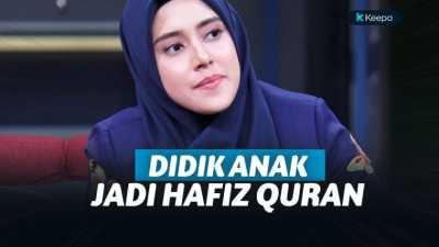 Miliki Suara Merdu, Fairuz A Rafiq Didik Anak Jadi Hafiz Alquran