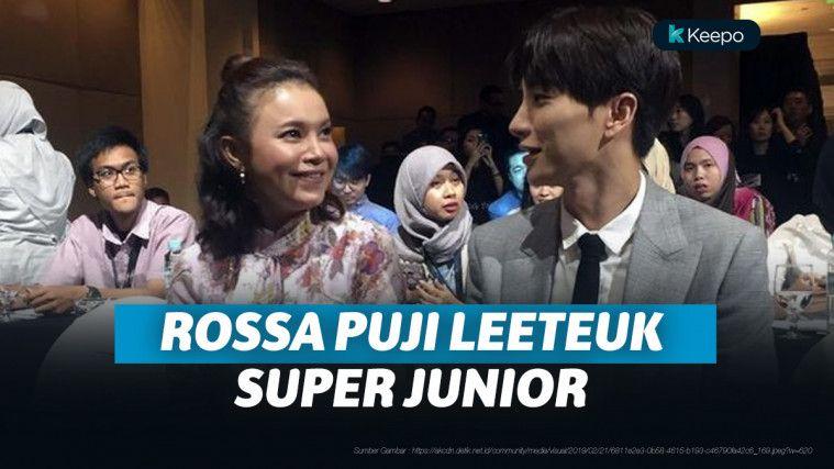 Baru Pertama Bertemu, Rossa Puji Kepribadian Leeteuk Super Junior | Keepo.me