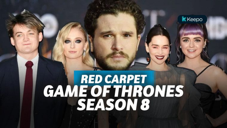 Kemunculan Pemain Game of Thrones Season 8 di Red Carpet Ekslusif